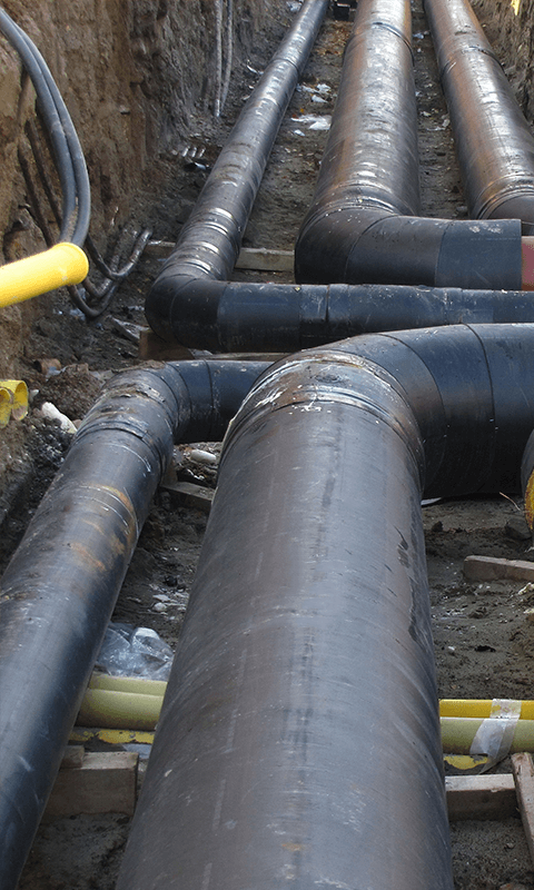 Hot-water and Steam Pipelines