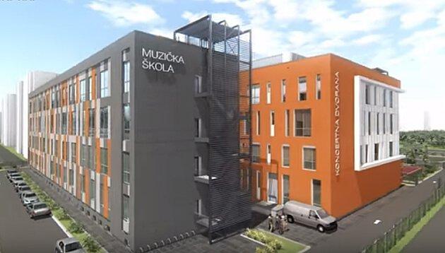 Izgradnja muzičko baletske škole u Novom Sadu