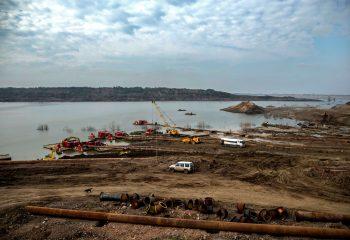 Ispumpavanje zamuljane vode i mulja na površinskom kopu RB Kolubara – Tamnava – Zapadno polje