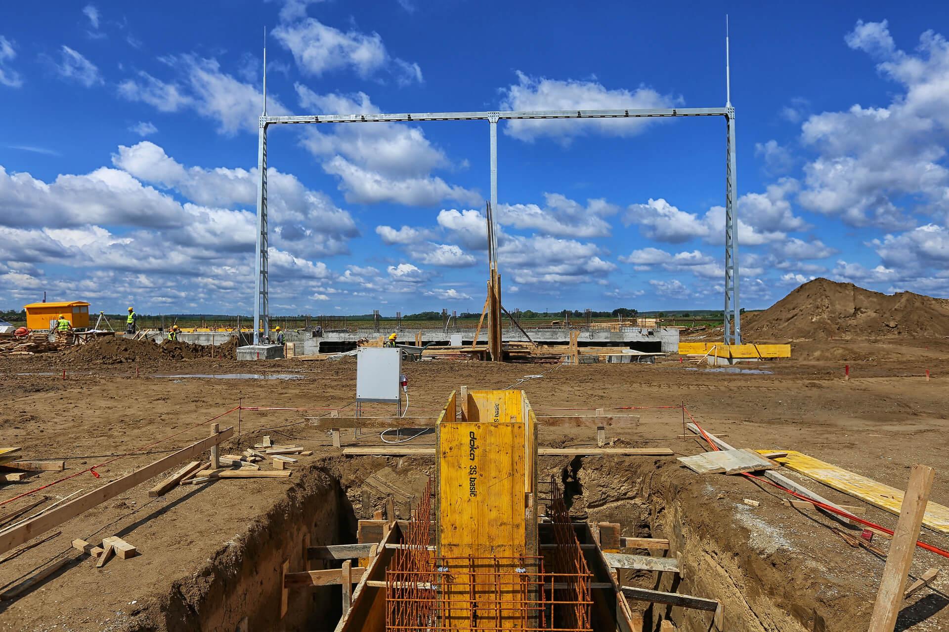 Radovi na izgradnji TS 110/6 kV Rudnik 5 I DV 110kV Rudnik 3 – Rudnik 5