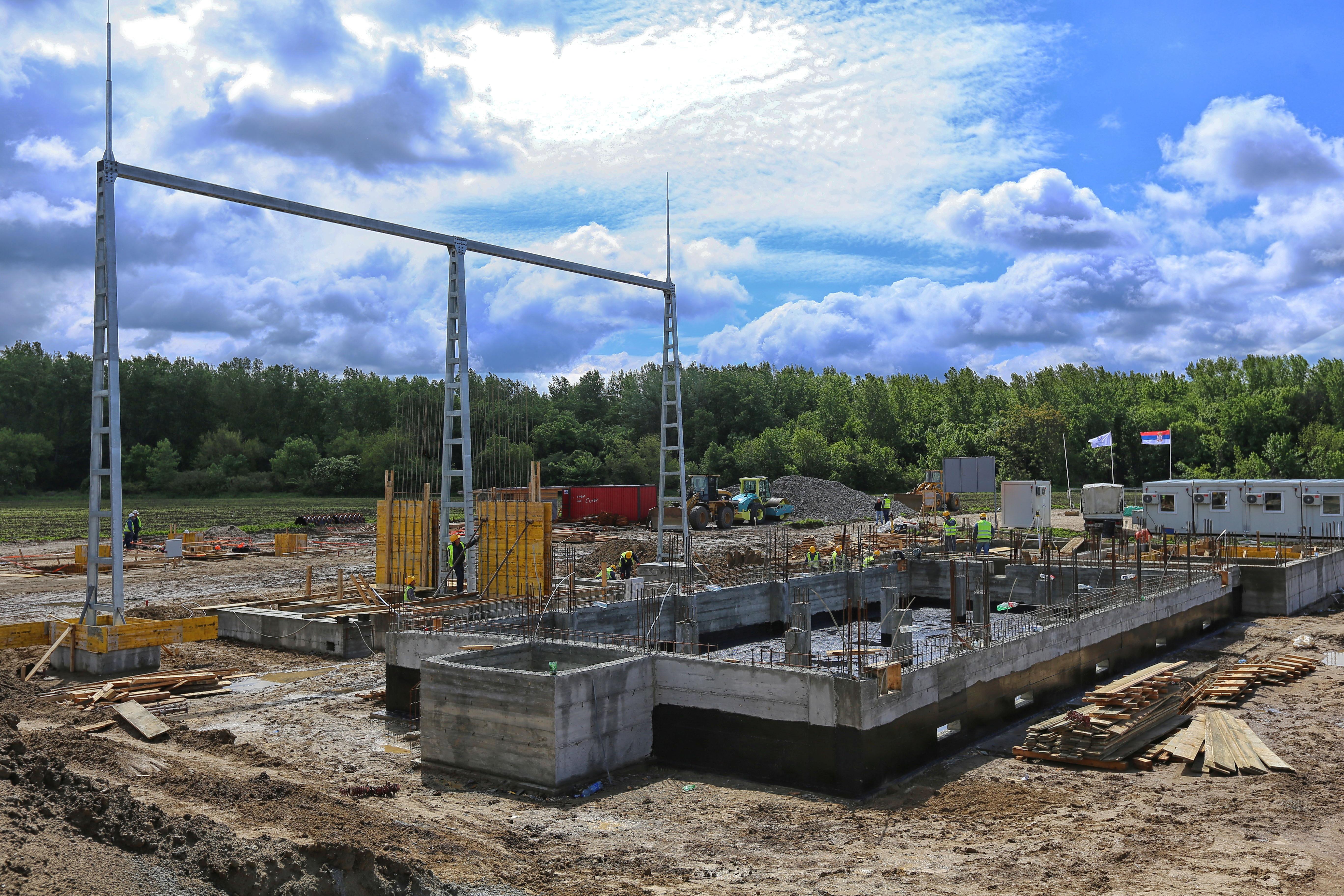 Radovi na izgradnji TS 110/6 kV Rudnik 5 i DV 110 kV Rudnik 3 – Rudnik 5