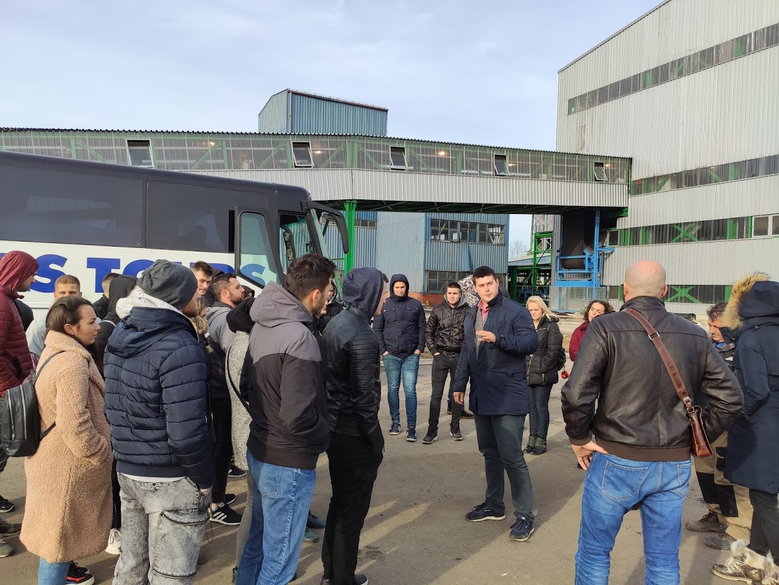 Stručna poseta studenata DEPT-a u Kolubari